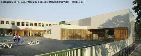 ROMILLE Collège Jacques PREVERT
